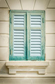Wood window — Stockfoto