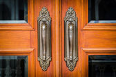 Vintage doorknob — Stock Photo