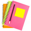 Note pad on notebook — Stock Photo