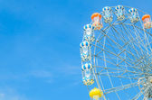 Amusement ferris wheel — Stock Photo