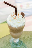 Chocolade frappe — Stockfoto