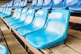 Leere stadion sitzplätze — Stockfoto