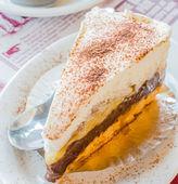 Banoffee cake — Stock Photo