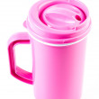 Stock Photo: Plastic mug