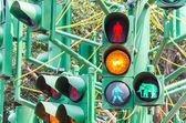 Traffic light signal — Stock Photo