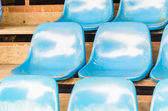 Empty stadium seats — Foto Stock