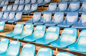 Empty stadium seats — Foto de Stock