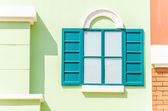 Vintage tuscany italian window — Stock Photo