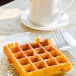 Waffle — Stock Photo