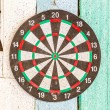 Photo: Dart board