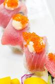 Tuna sushi — Stock Photo