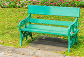 Bench park — Stock Photo