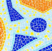 Color mosaic texture — Stock Photo