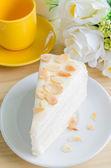 Crepe cake — Stock Photo