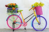 Fake flowers — Stock Photo