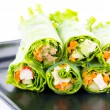 Fresh vegetable spring rolls — Stock Photo #39600557