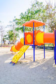 Playground on the beach — Stock Photo