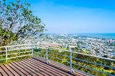 Cityscape in Phetchaburi, Thailand — Foto Stock