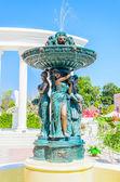 Fontaine, style Italie — Photo