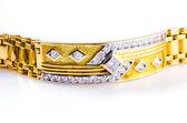 Gold bracelet — Stock Photo