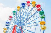 Vintage ferris wheel — Foto Stock