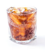 Cola in glass — Stock Photo