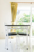 Table chair dining — Photo