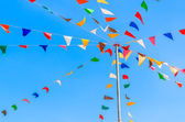 Color party flags — Stock fotografie