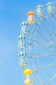Amusement ferris wheel — Stock Photo