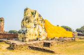 Statua di buddha sonno — Foto Stock