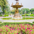 Stock Photo: Fountains in park