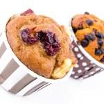 Cranberry cupcake — Stock Photo #40192763