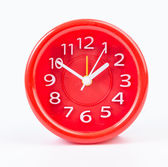 Red clock — Stockfoto