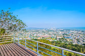 Cityscape in Phetchaburi — Stock Photo