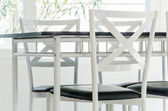 Table chair dining — Stockfoto