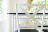 Table chair dining — ストック写真