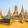 Wat Chai Watthanaram temple — Stock Photo #40327403