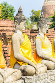 świątyni wat yai chaimongkol — Zdjęcie stockowe