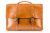 Leather bag — Stock Photo