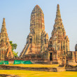 Wat Chai Watthanaram temple — Stock Photo #40335645