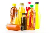 Soft bottle drinks — Stock Photo