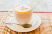 Capuchino caliente — Foto de Stock