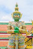 Architettura intorno a tempio di smeraldo — Foto Stock