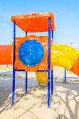 Playground on the beach — Stock Photo