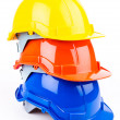 Stock Photo: Safety helmets