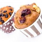 Cranberry cupcake — Stock Photo #40749769