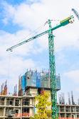 Guindaste de construção — Foto Stock