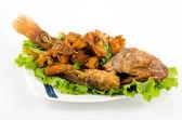 タイ料理魚のフライ — ストック写真