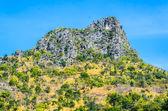 Mountain and bluesky — Stock Photo