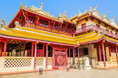 Chinese temple in bang pa — Foto Stock